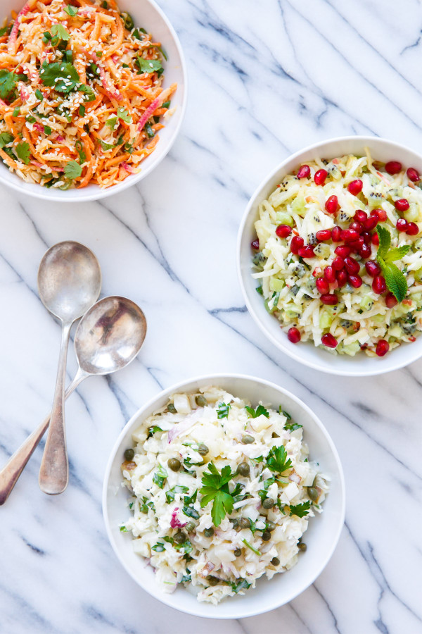 Seriously Awesome Slaws - 3 Recipes for Unique Coleslaw