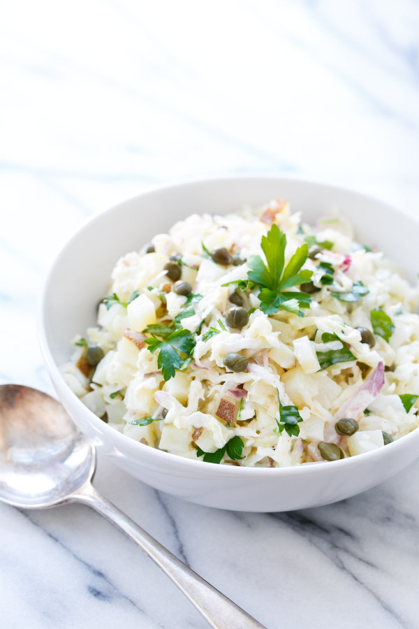 Seriously Awesome Slaws - Potato Salad Slaw