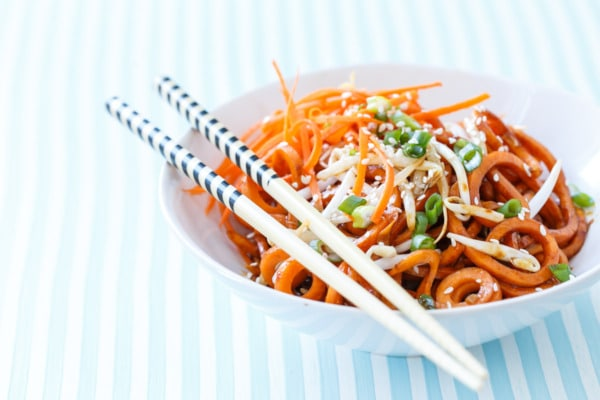 Soy Sauce Sweet Potato Noodles