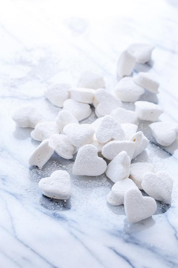 Double-Vanilla Marshmallow Cut-Outs