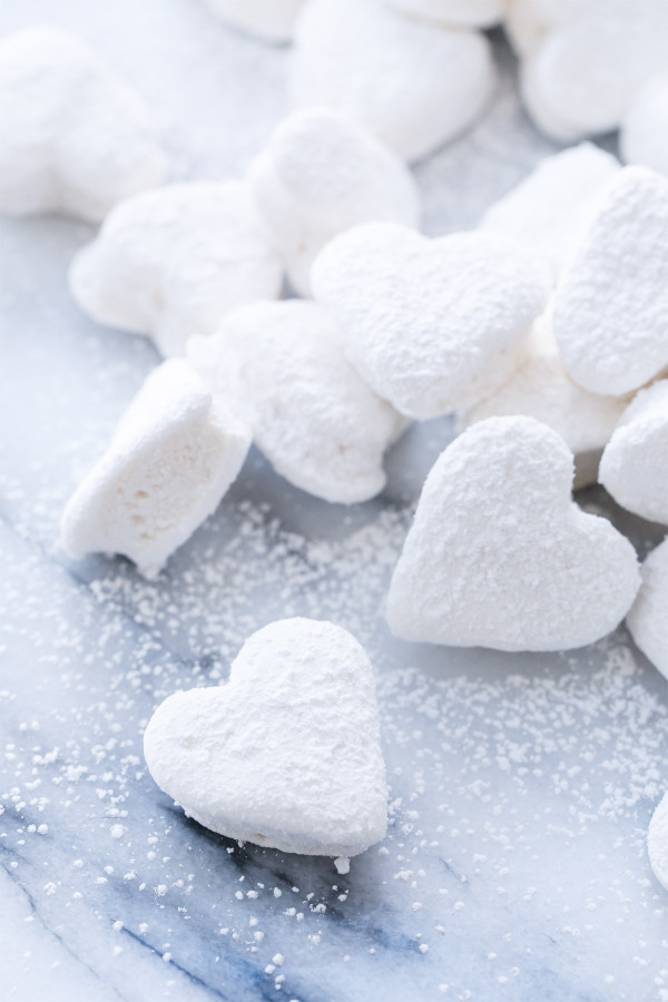 Double-Vanilla Marshmallow Cut-Outs