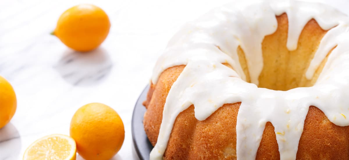 My Big Fat Greek Yogurt & Meyer Lemon Bundt Cake