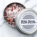 Make your Own! Rose Petal Flavored Sea Salt