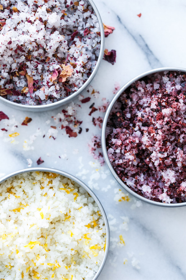 How to make infused sea salt