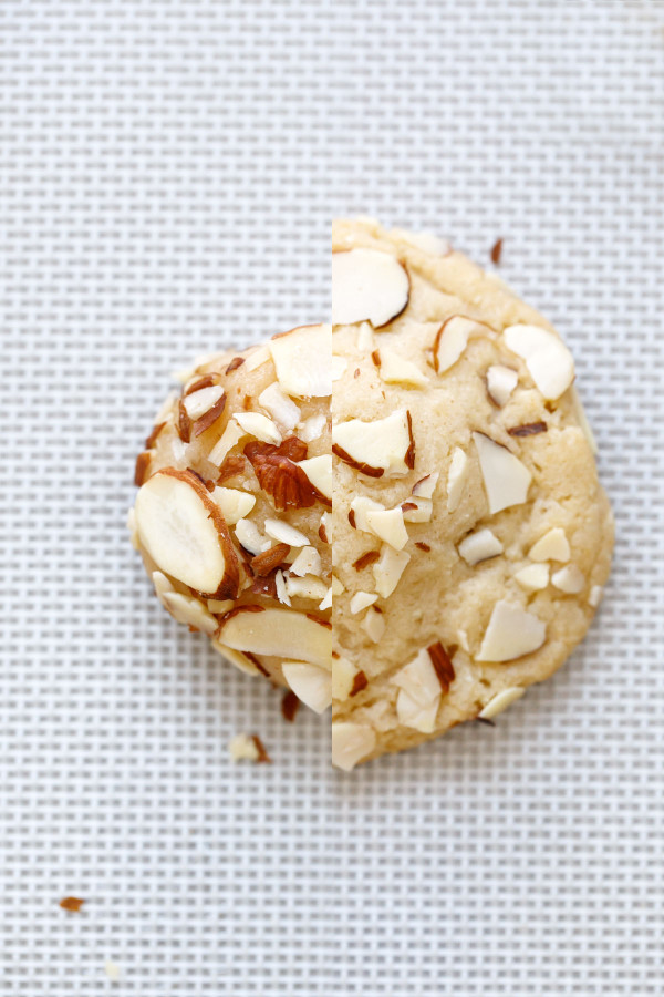 Marzipan-Stuffed Almond Sugar Cookies