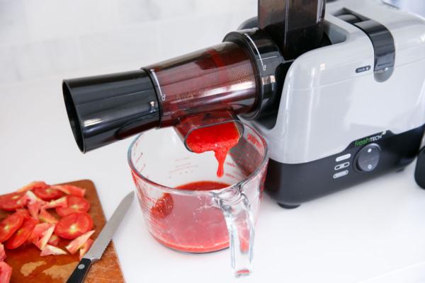 Strawberry Tomato Jam using the FreshTech Harvest Pro Sauce Maker