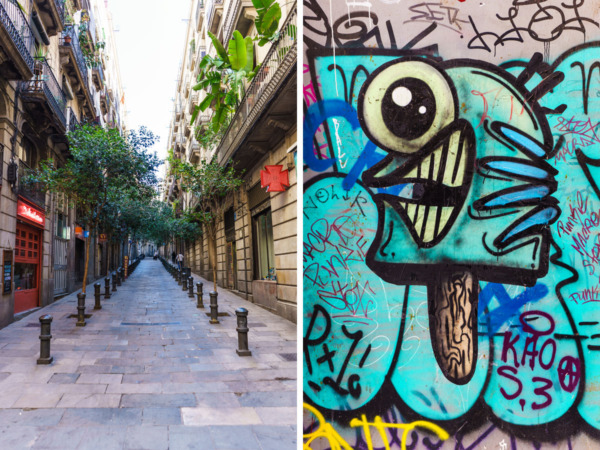 Carnival Vista Mediterranean Cruise: Streets and Street Art in Barcelona Spain