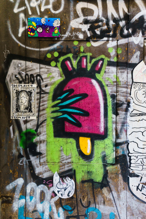 Carnival Vista Mediterranean Cruise: Sweet Street Art in Barcelona, Spain
