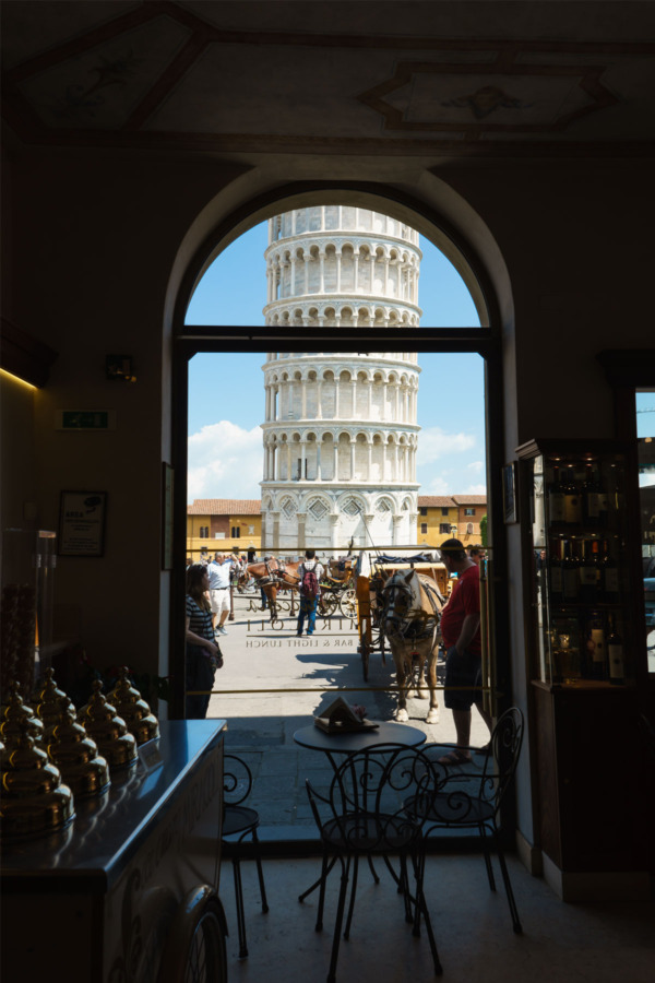 Carnival Vista Mediterranean Cruise: Leaning Tower of Pisa, Italy