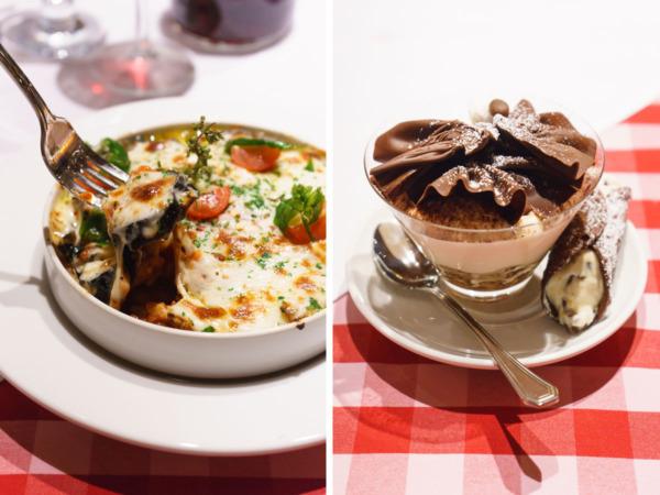 Carnival Vista European Cruise: Dinner at Cucina del Capitano