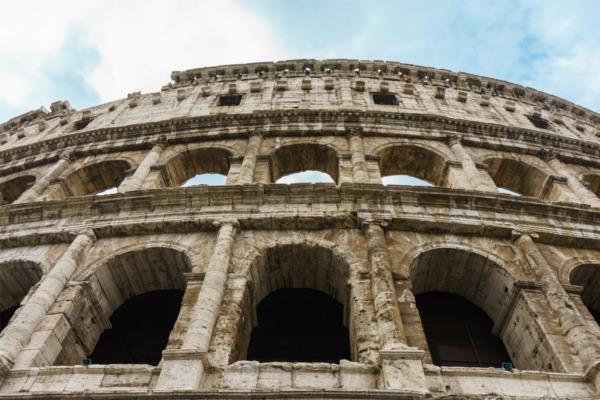 Carnival Vista Mediterranean Cruise: Colosseum in Rome, Italy