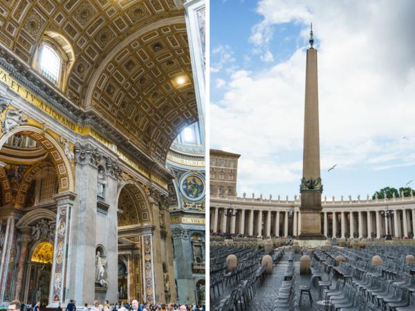 Carnival Vista Mediterranean Cruise: St. Peter's Square & Basilica, Vatican