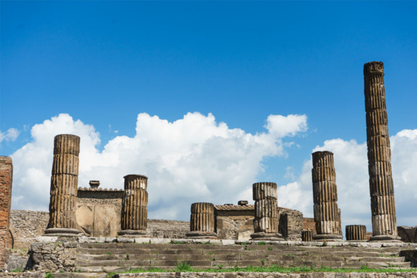 Carnival Vista Mediterranean Cruise: Ancient City of Pompeii, Italy