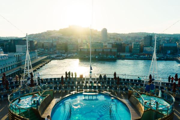 Carnival Vista Mediterranean Cruise: Port of Naples, Italy