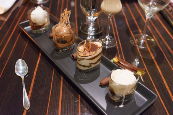 Carnival Vista European Cruise: Dessert at Farhenheight 555 Steakhouse