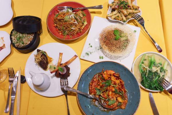 Carnival Vista European Cruise: Dinner at JiJi's Asian Kitchen