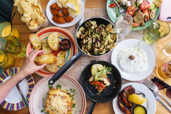 Carnival Vista Mediterranean Cruise: Greek Lunch in Crete (Heraklion) Greece