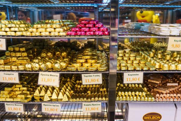 Carnival Vista European Cruise: Candy Store in Heraklion, Greece