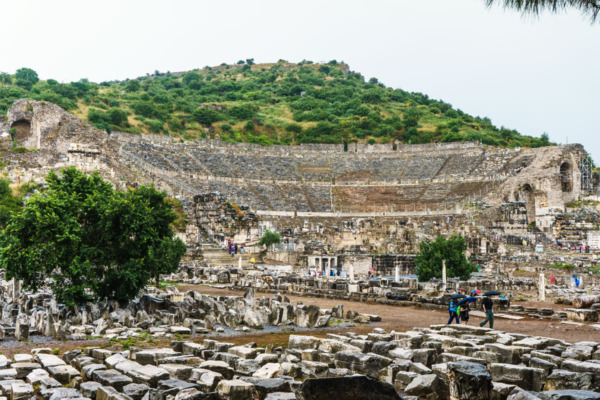Carnival Vista Mediterranean Cruise: Ancient City of Ephesus, Turkey