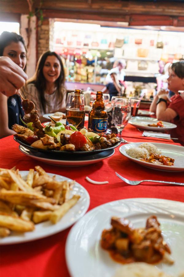 Carnival Vista Mediterranean Cruise: Lunch in Kusadasi, Turkey
