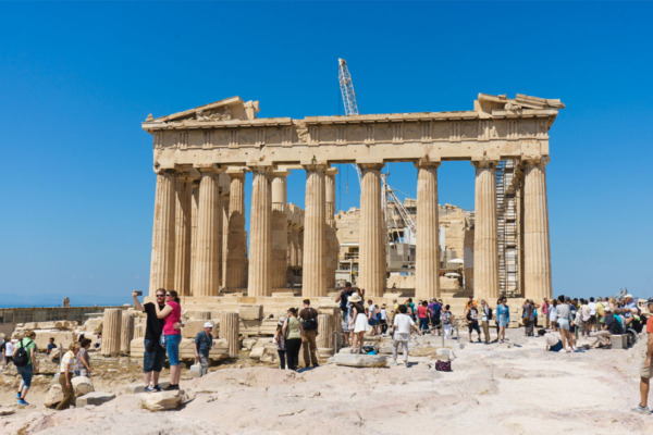 Carnival Vista Mediterranean Cruise: The Parthenon in Athens, Greece