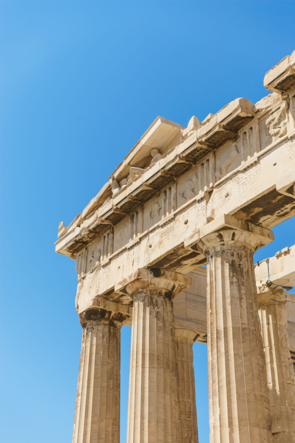 Carnival Vista European Cruise: The Parthenon in Athens, Greece