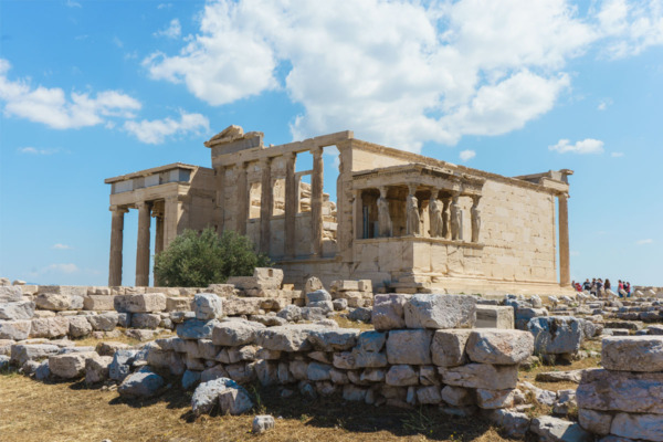Carnival Vista European Cruise: Atop the Acropolis in Athens, Greece