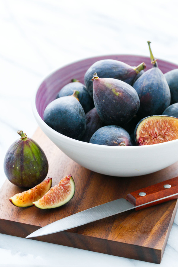 Fresh Mission Black Figs to be made into Fig Ice Cream