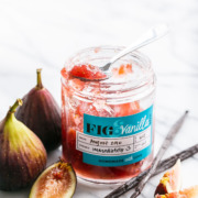 Homemade Fig & Vanilla Bean Jam