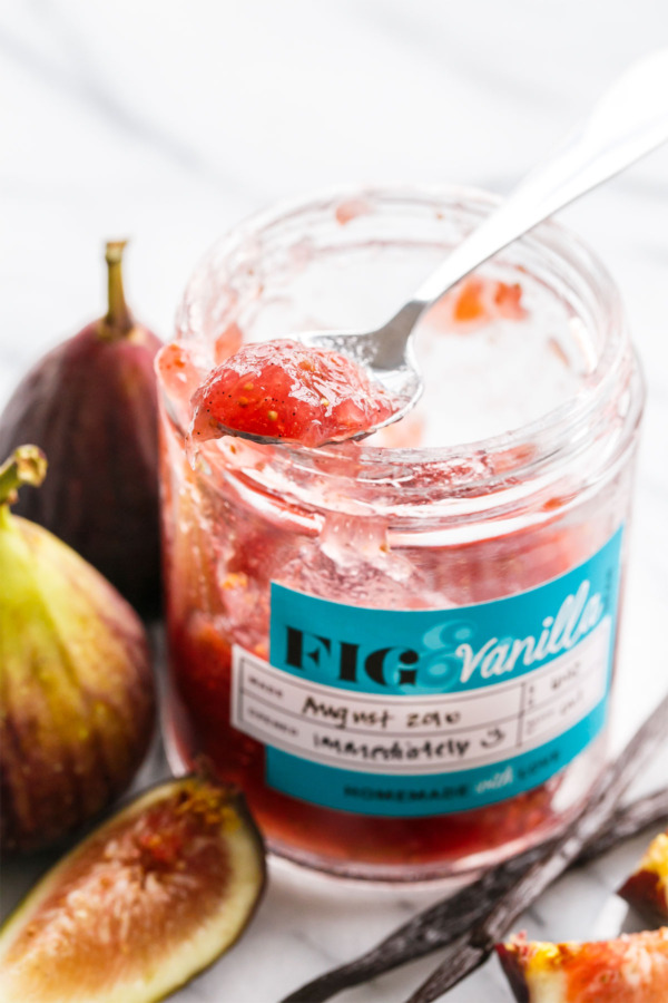 Homemade Fig & Vanilla Bean Jam