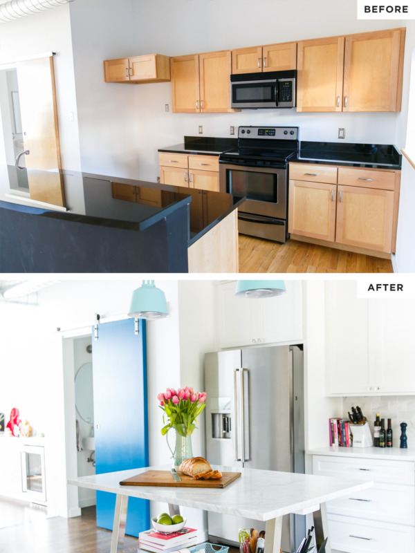 Before And After Kitchen Remodel. Before After Kitchen
