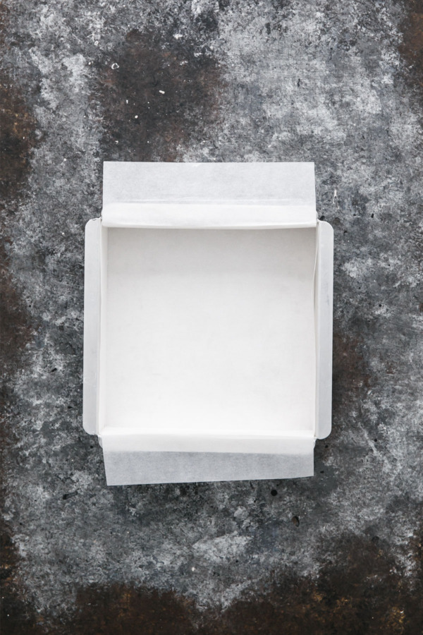 Lining a Square Pan with Parchment Paper - Origami Method