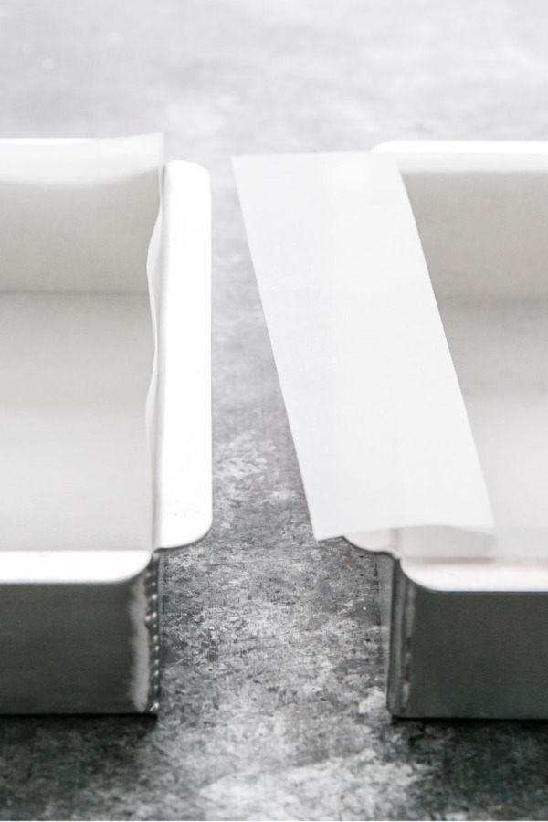 How To Line a Square Pan with Parchment Paper - Two Ways