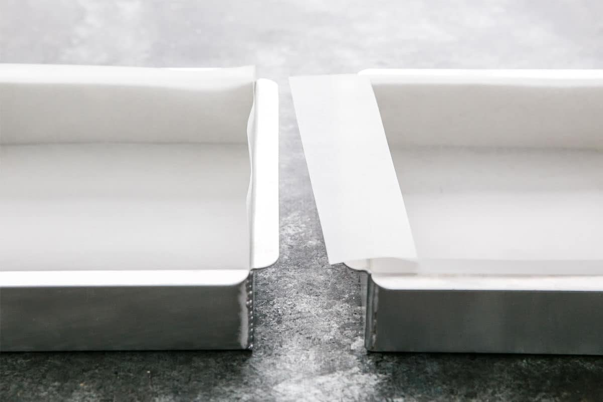Kitchen Basics: Lining a Square Pan with Parchment Paper (2 Ways)