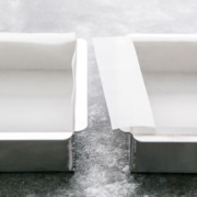 Lining a Square Pan with Parchment Paper - Two Ways