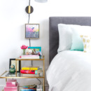 Bedroom bedside table: Hers