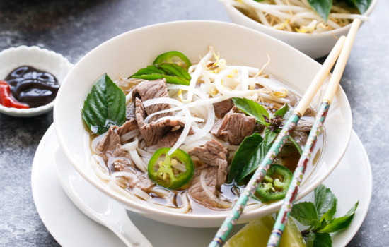Quick Beef Pho - A perfect weeknight dinner recipe