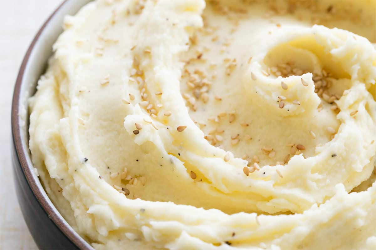 Toasted Sesame Mashed Potatoes