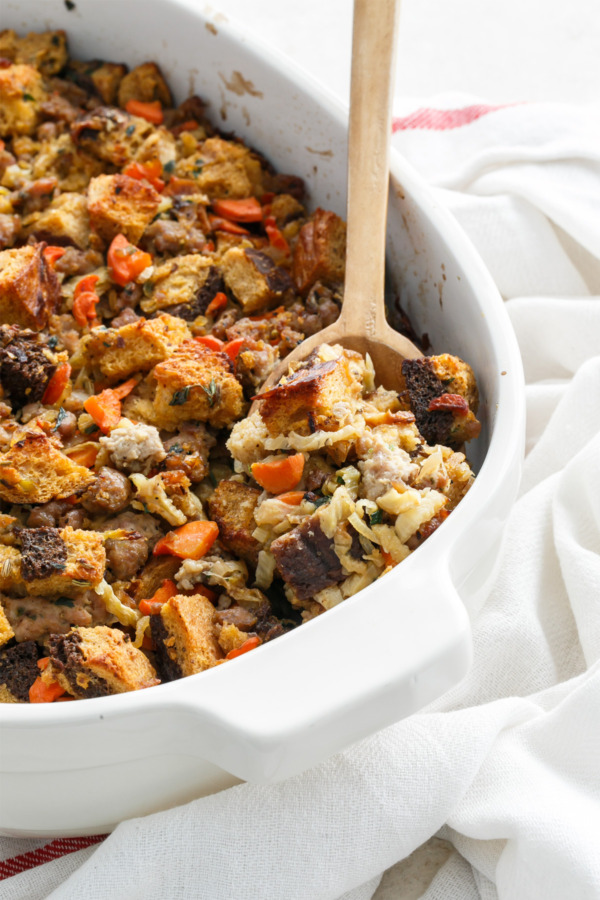Italian Sausage & Caramelized Fennel Stuffing