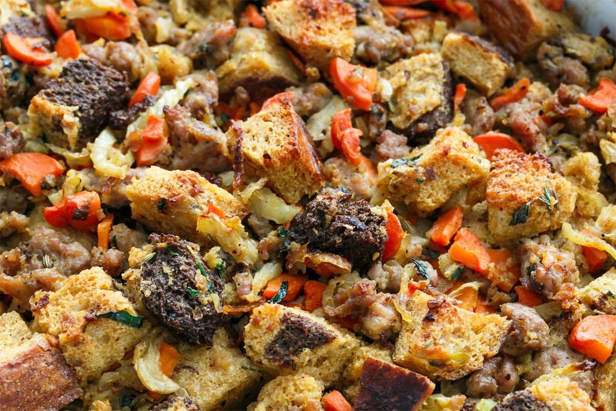 Italian Sausage & Caramelized Fennel Stuffing