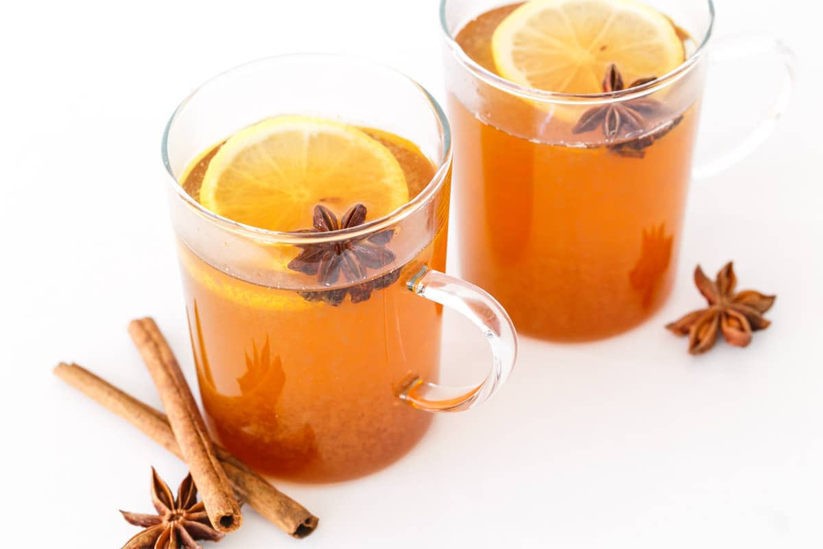 Spiced Chamomile Hot Toddy