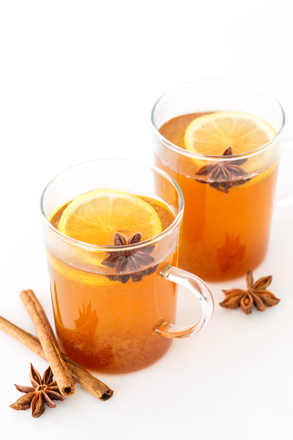 Spiced Chamomile Hot Toddy | Love and Olive Oil