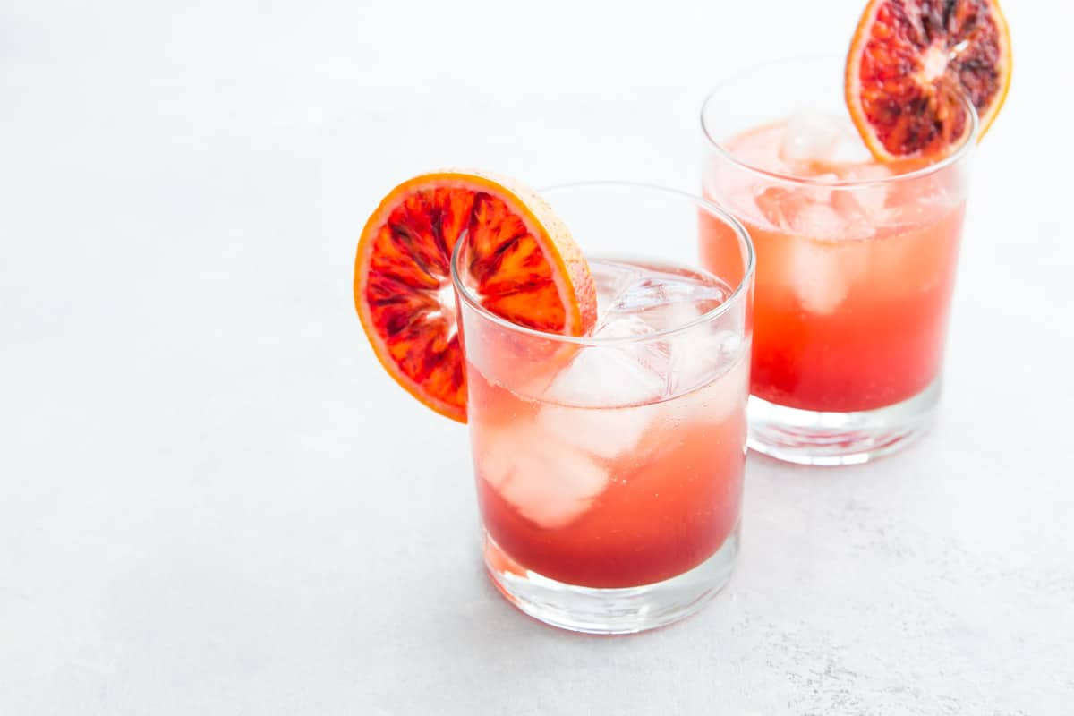 Sicilian Gin Spritz Cocktail
