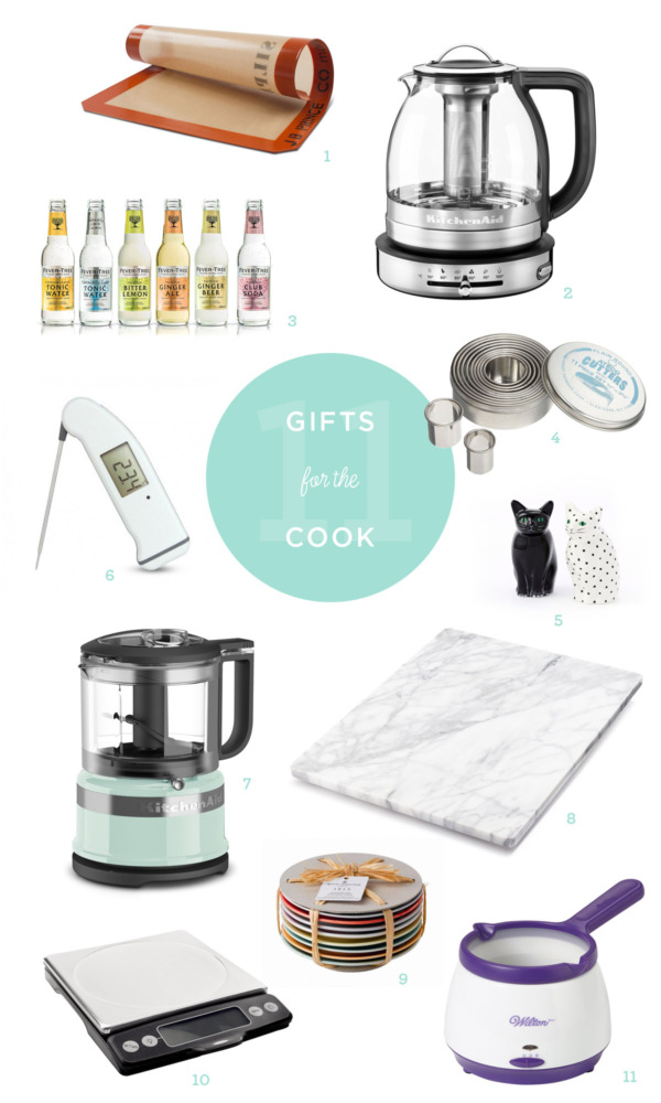 2016 Holiday Gift Guide - Gifts for Home Cooks