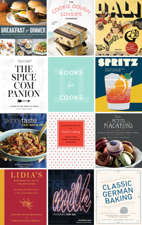2016 Holiday Gift Guide - Favorite Cookbooks for Home Cooks