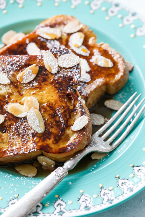 Make French Toast with Horchata Instead of Milk - you won't regret it!