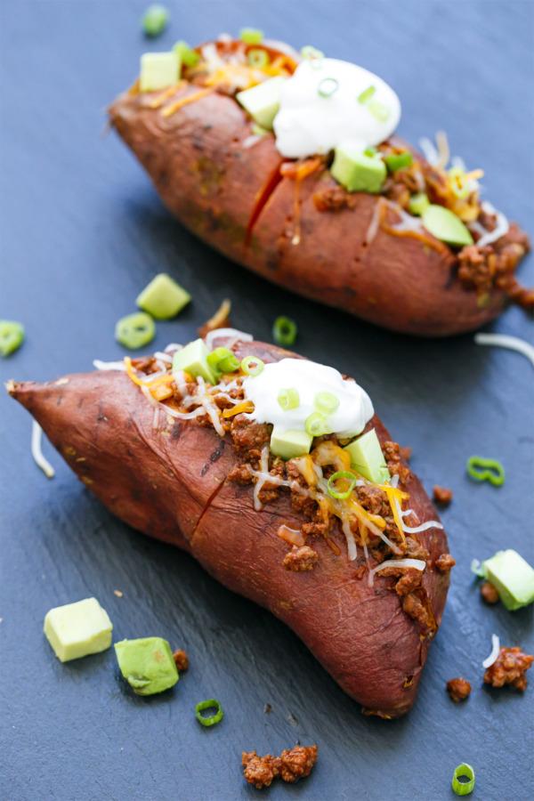 Taco-Stuffed Sweet Potato Recipe