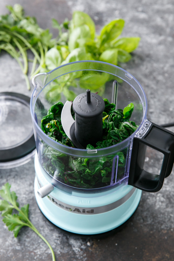 How to make pesto from beet greens