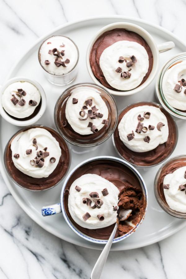 Bittersweet Chocolate Budino