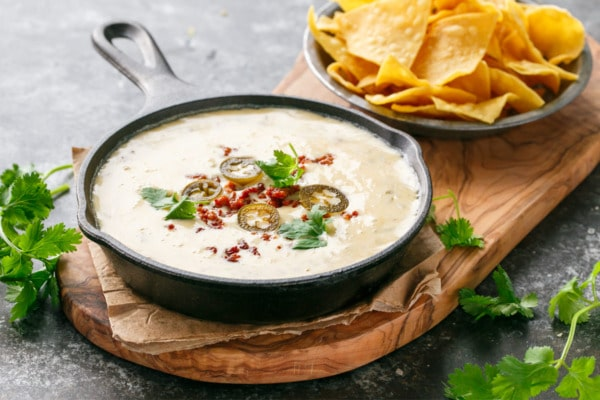 Spicy Chorizo Queso Dip